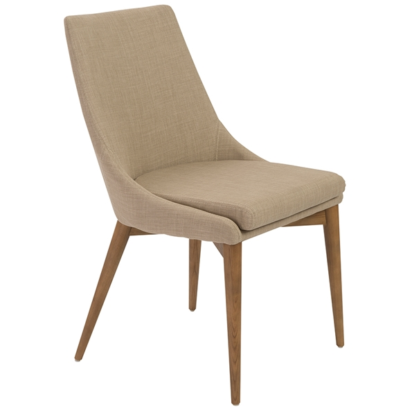 Calais Tan Modern Side Chair