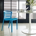 Contour Contemporary Blue Dining Chair