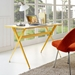 Ellington Contemporary Yellow Desk