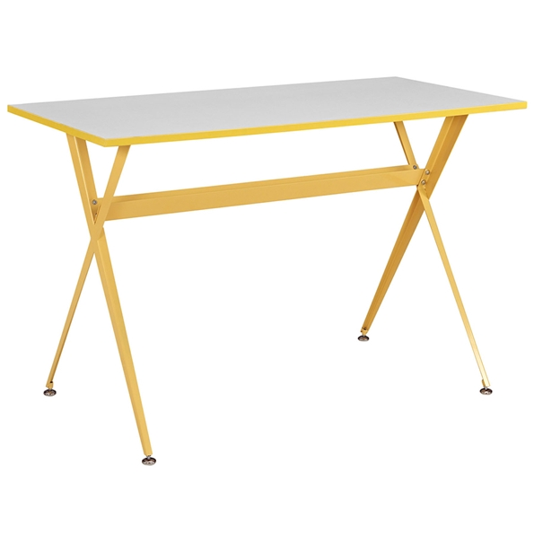 Ellington Modern Yellow Desk