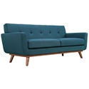 Empire Azure Modern Loveseat