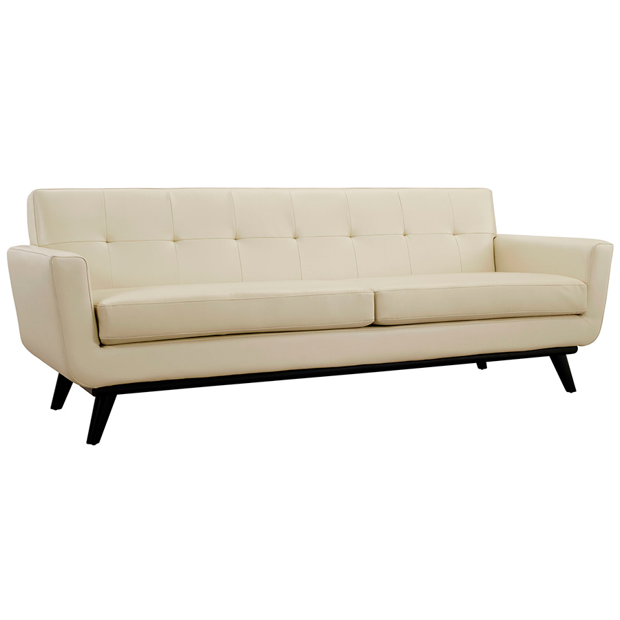 Modern Leather Sofas Empire Beige Leather Modern Sofa Sofas