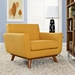 Empire Citrus Contemporary Lounge Chair