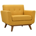 Empire Citrus Modern Lounge Chair