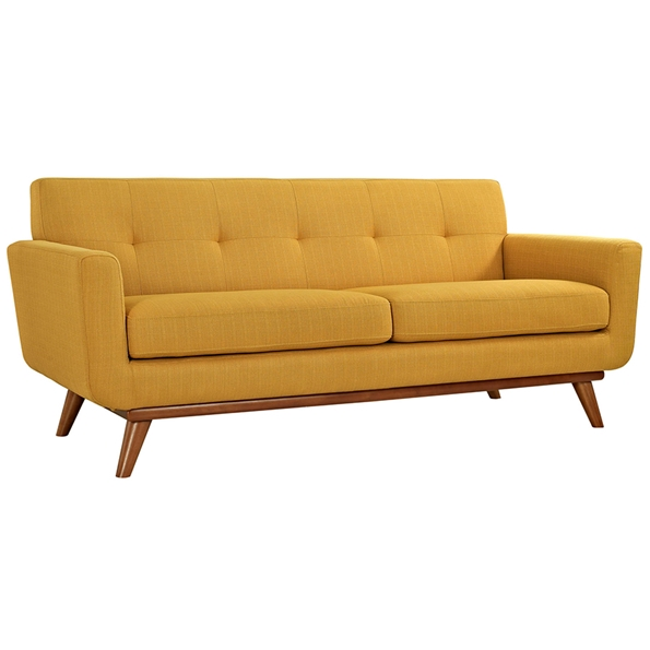Empire Citrus Modern Loveseat