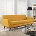 Empire Citrus Contemporary Sofa
