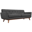 Empire Dark Gray Modern Sofa