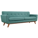 Empire Light Blue Modern Sofa