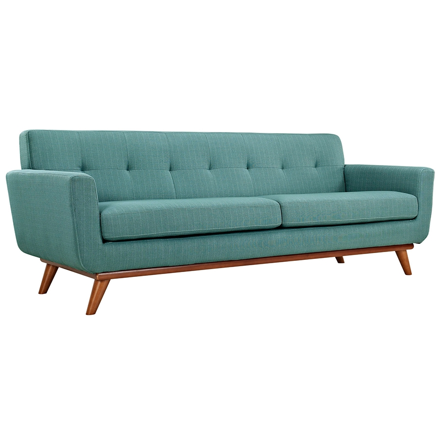 Ordinaire Call To Order · Empire Light Blue Modern Sofa
