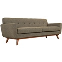 Empire Oatmeal Modern Sofa