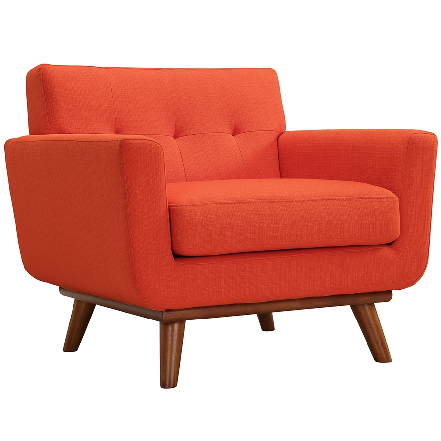 Call To Order · Empire Red Modern Lounge Chair