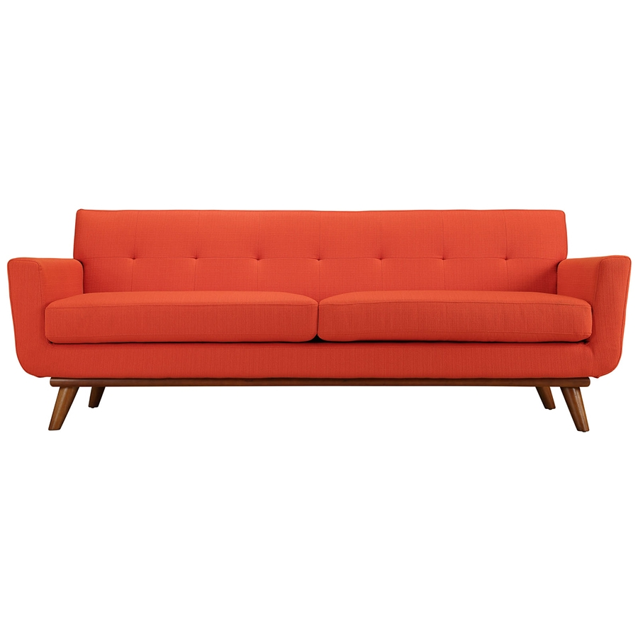 Modern sofas empire red sofa eurway furniture for Best budget couch