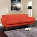 Empire Red Contemporary Sofa