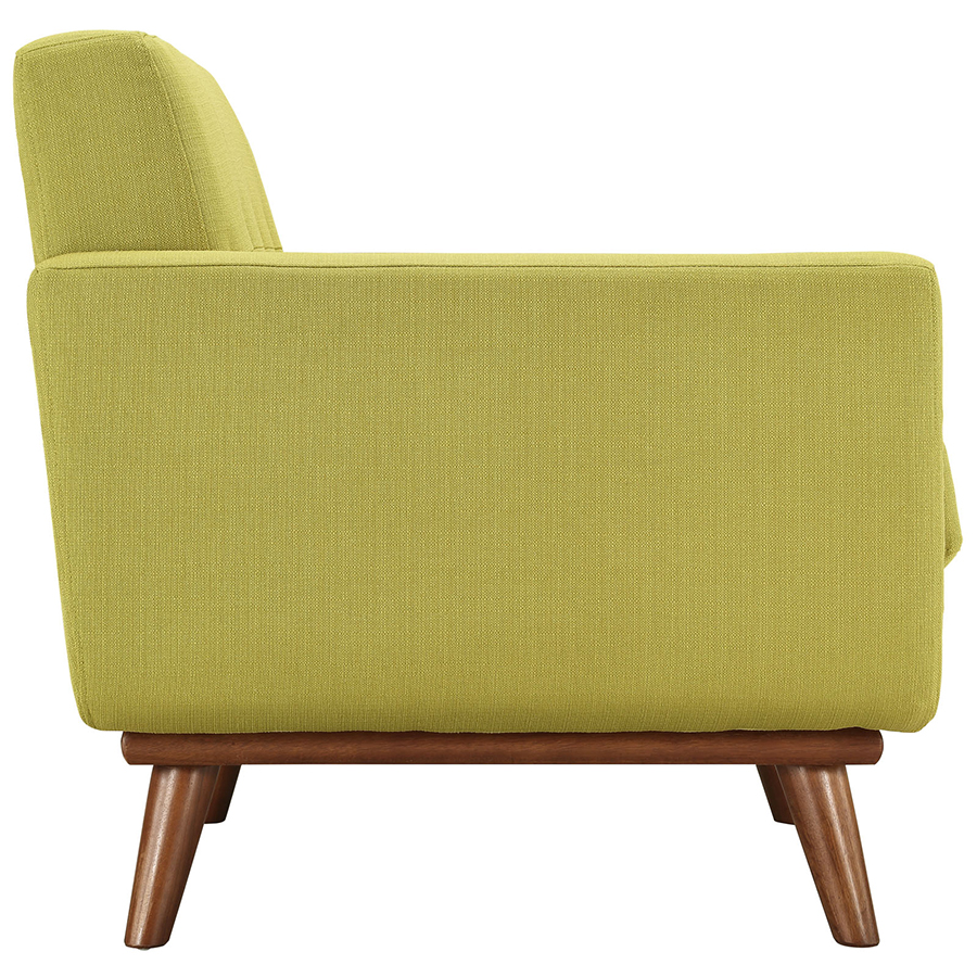 Empire Wheatgrass Modern Lounge Chair - Side View