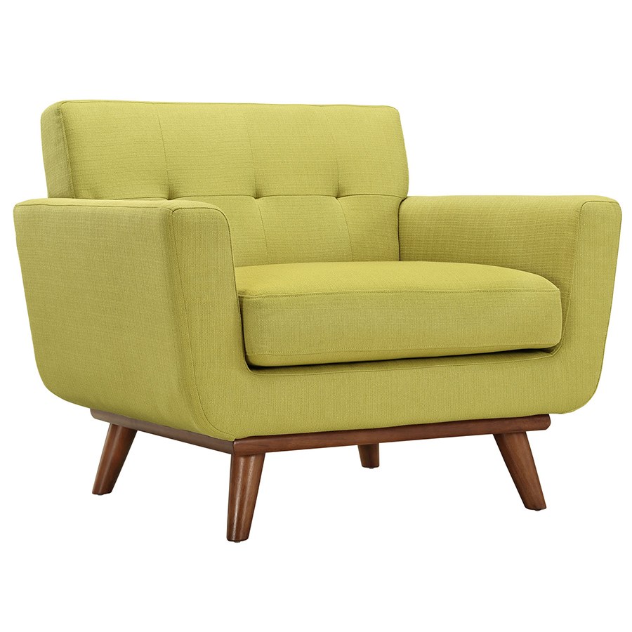 Empire Wheatgrass Contemporary Lounge Chair