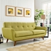 Empire Wheatgrass Contemporary Loveseat