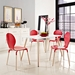 Fleetwood  White Contemporary Dining Table