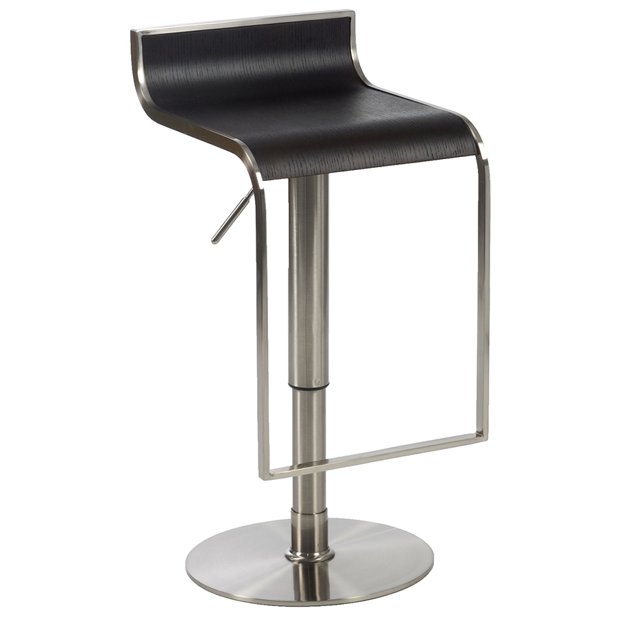 Foley Adjustable Bar Stool in Wenge