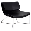 hailey modern lounge chair
