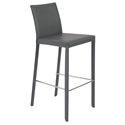 Hasina-B gray modern bar stool