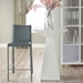 heather gray contemporary counter stool