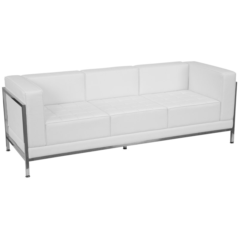 Incroyable Call To Order · Innsbruck Modern White Sofa