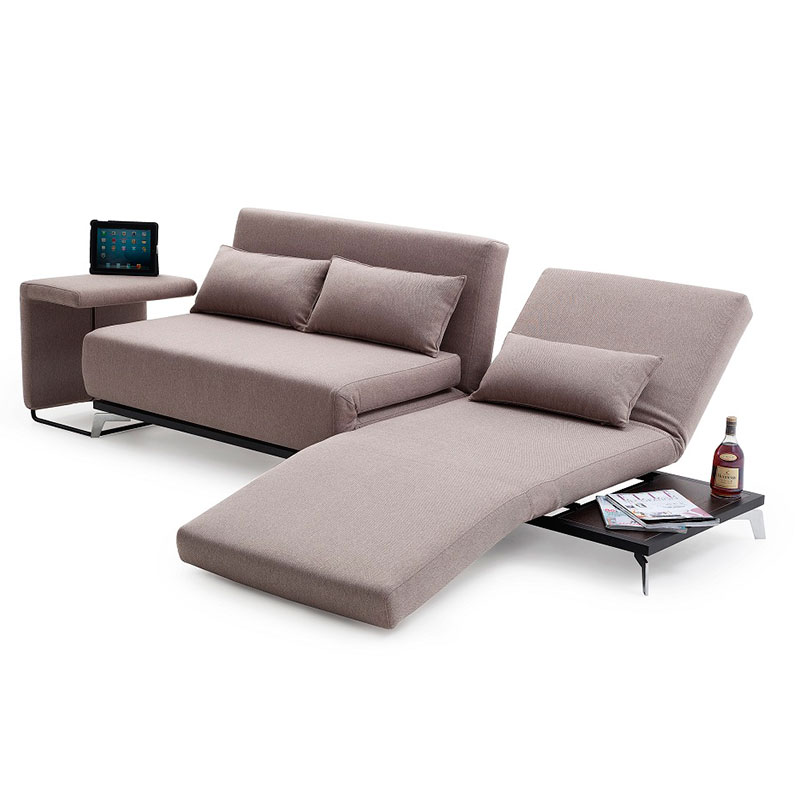 Modern sleeper sofas jorgensen sofa sleeper eurway for Modern love seats