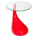Juliet Modern Red Side Table