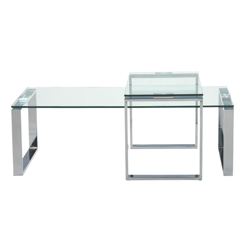 kat modern cocktail table and end table set