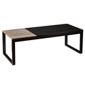 Landis Modern Black Cocktail Table