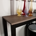 Landis Contemporary Black Console Table