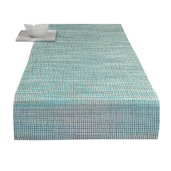 lattice modern table runner