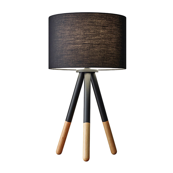 Lourie Modern Tripod Table Lamp
