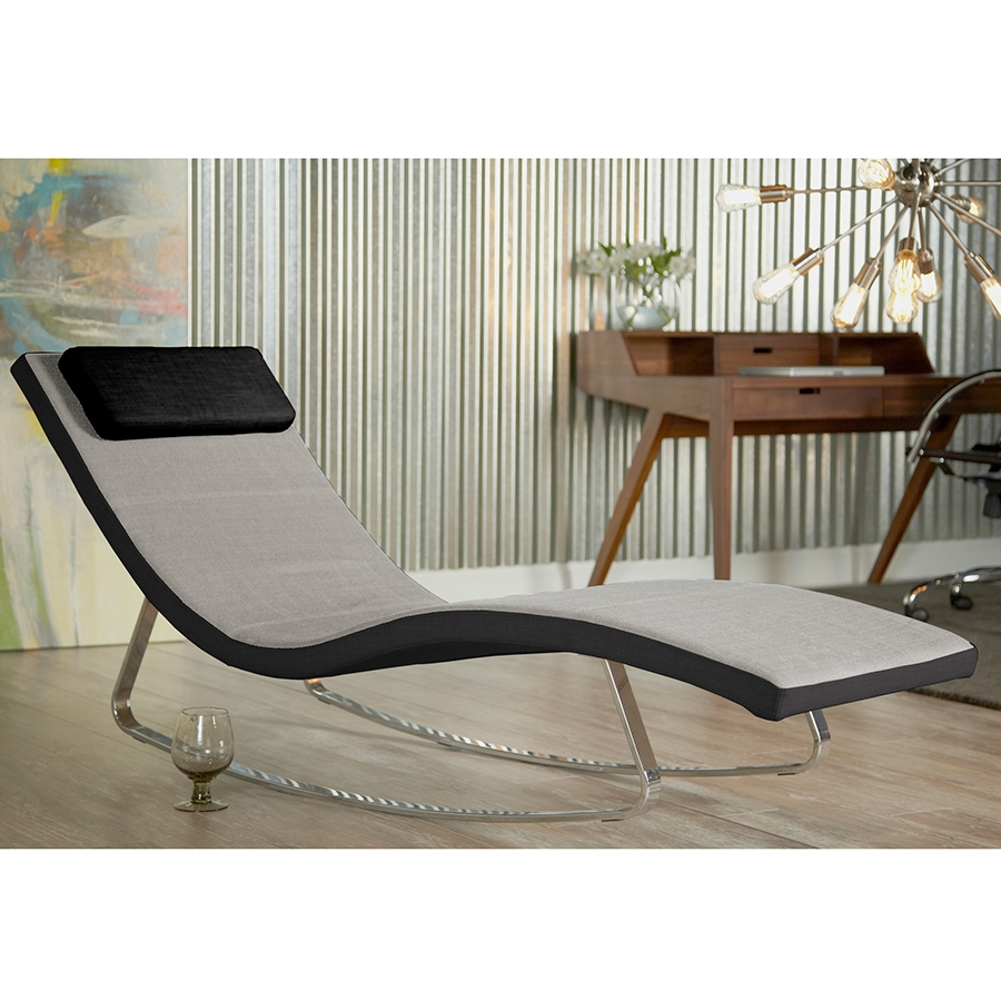 Lucy Chaise Lounge Modern Chaise Lounges