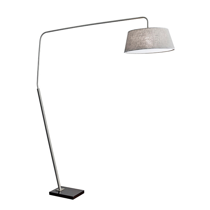 Luderick Modern Arc Floor Lamp