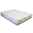 lux 10 inch gel memory foam mattress