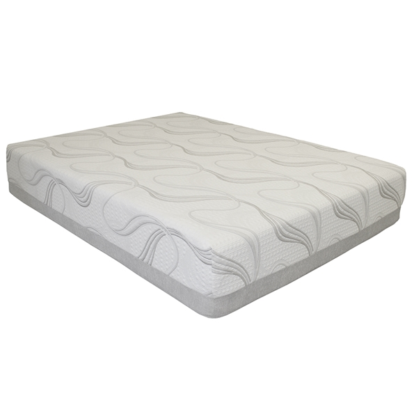 lux 12 inch gel memory foam mattress