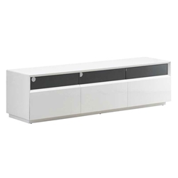 Maguire White Modern TV Stand