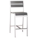 Megapolis Modern Outdoor Bar Stool