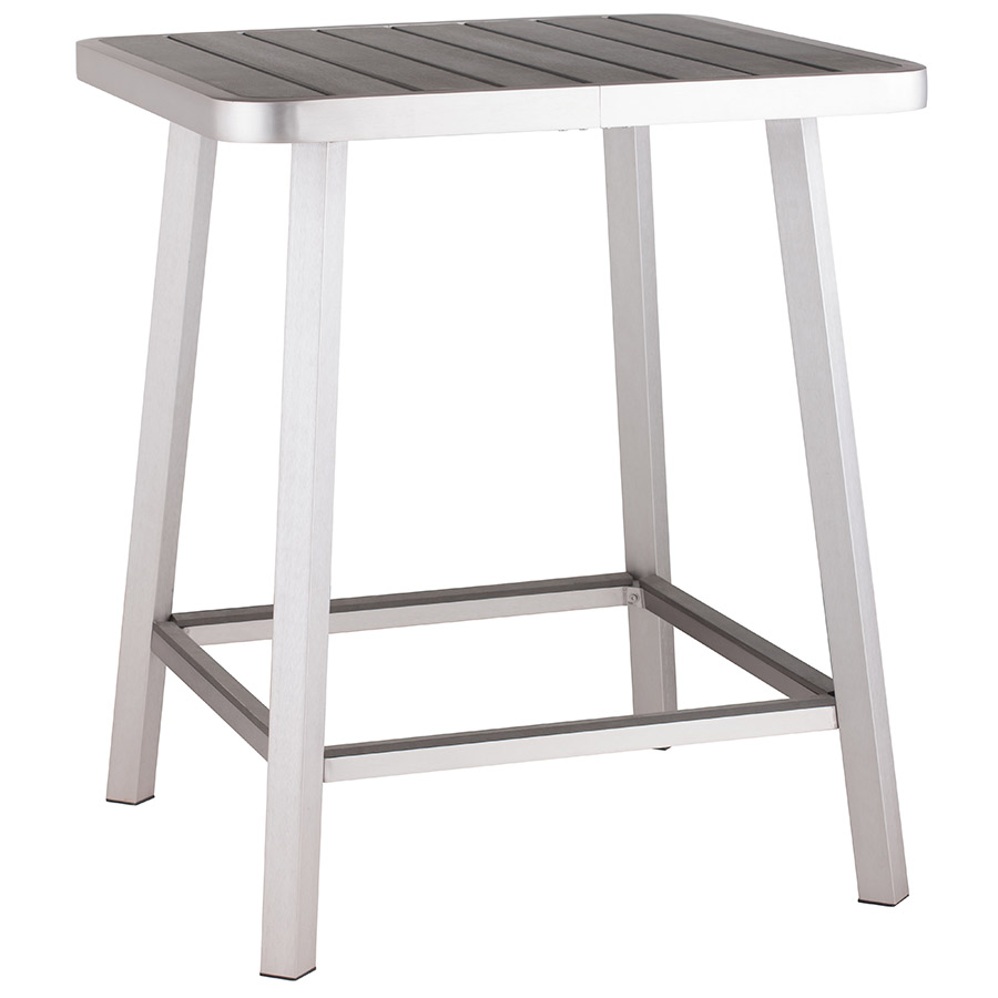 martin modern outdoor bar table