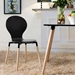 Portugal Contemporary Black Dining Chair