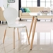 Portugal Contemporary White Dining Chair