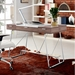 Powell Contemporary Birch Desk
