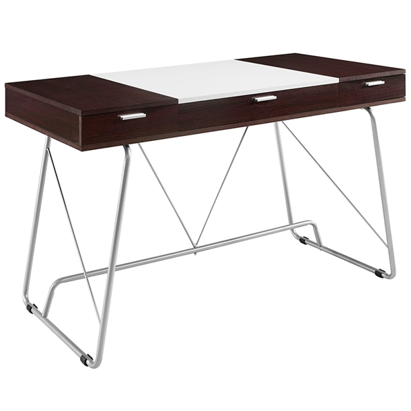 Powell Modern Cherry Desk