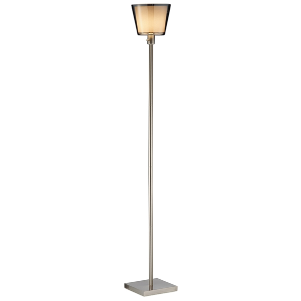Modern floor lamps presley tall floor lamp eurway for Tall lantern floor lamp