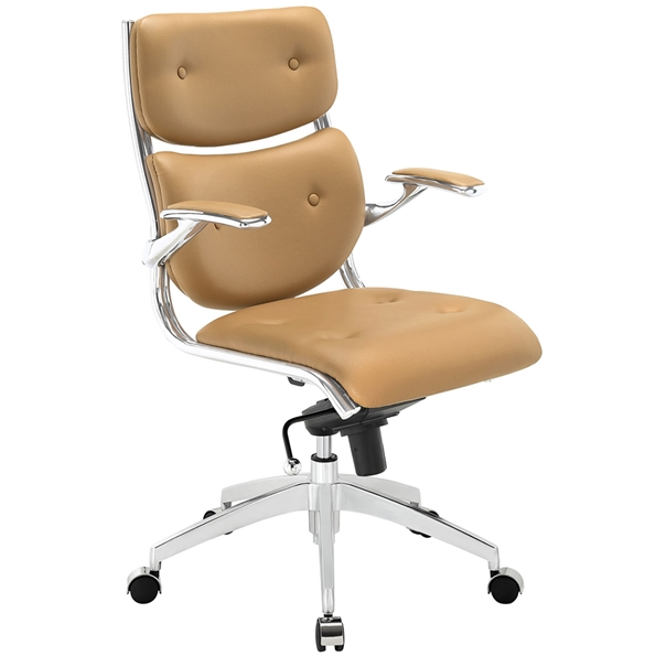 Princeton Modern Tan Office Chair