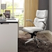 Princeton Contemporary White Office Chair