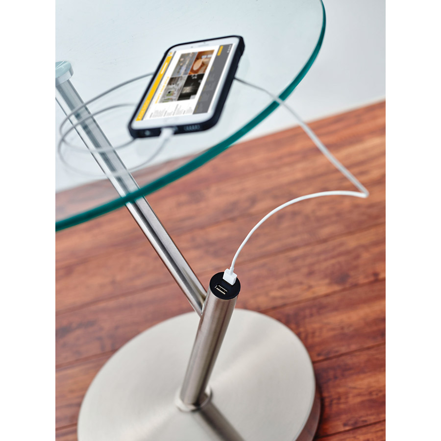 modern side tables | pulsar usb end table | eurway