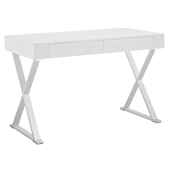 Samuel Modern White Desk