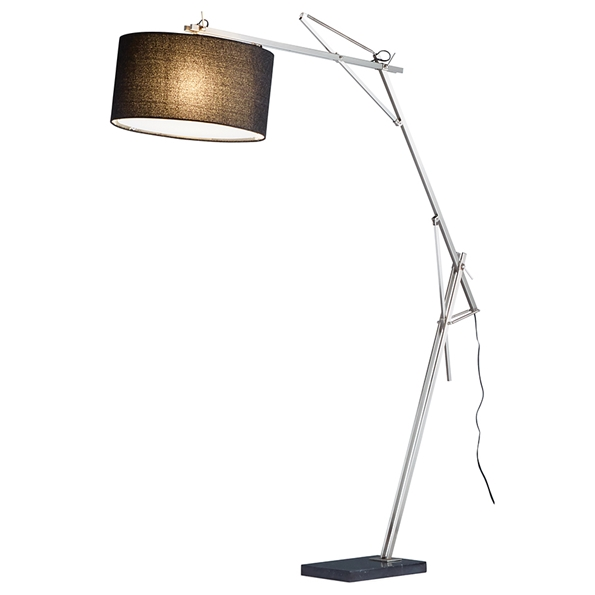 Sawyer Modern Arc Floor Lamp